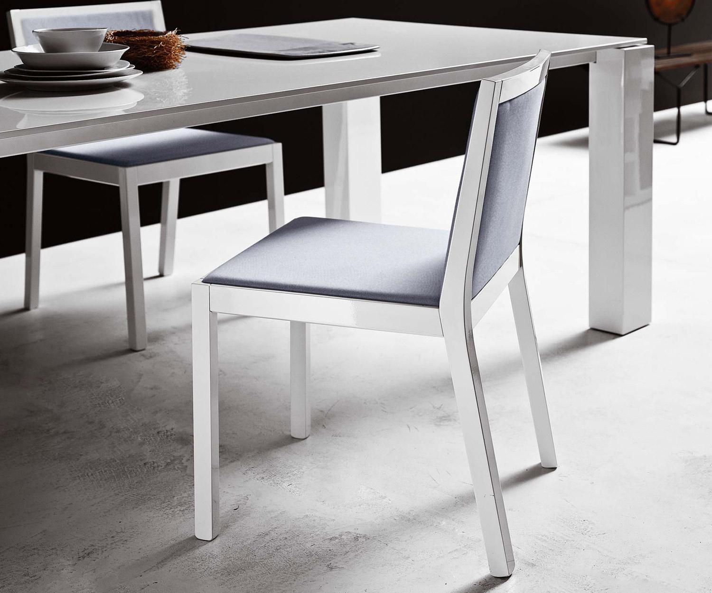 Novamobili Stuhl Quadrat mit Polsterung