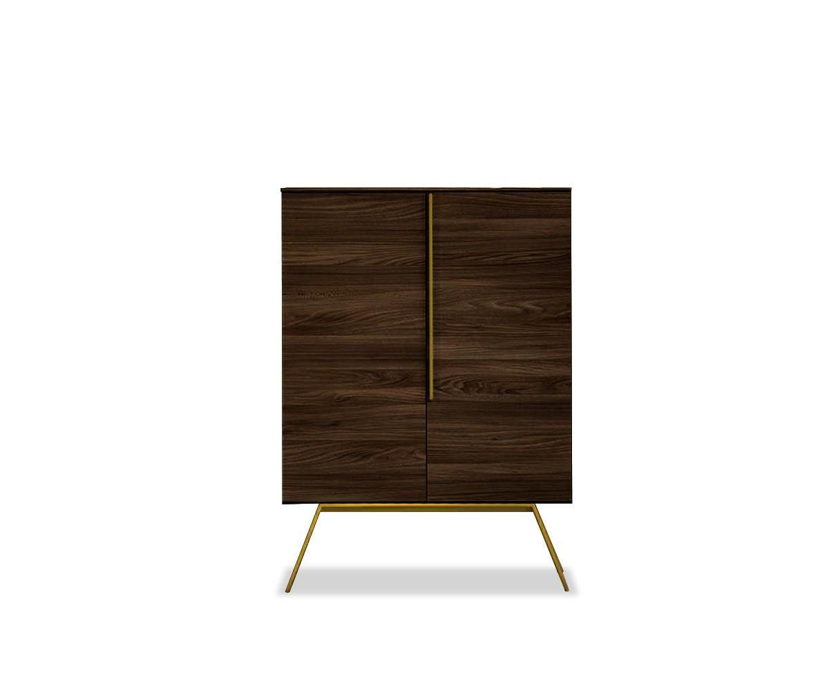novamobili highboard cleo. Black Bedroom Furniture Sets. Home Design Ideas