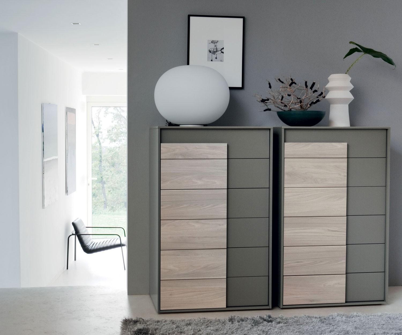novamobili kommode overlap 6 schubladen. Black Bedroom Furniture Sets. Home Design Ideas