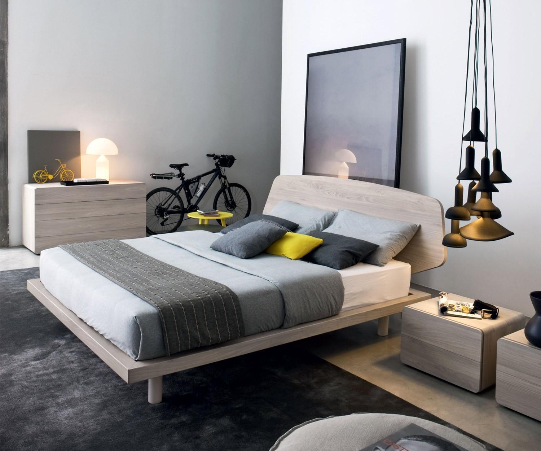 novamobili bett diletto mit gro em kopfteil. Black Bedroom Furniture Sets. Home Design Ideas