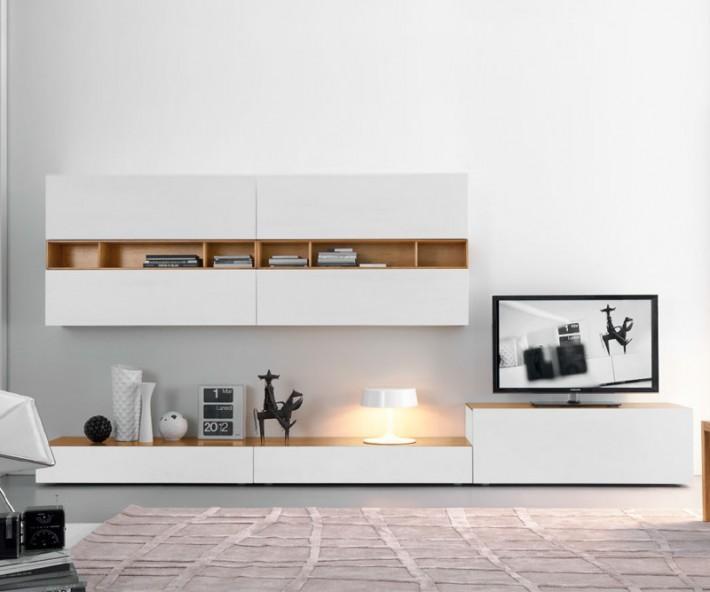 Fgf mobili designer wohnwand c42b for Wohnwand konfigurieren