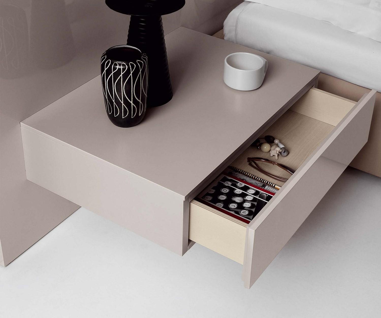 novamobili nachttisch easy 1 schublade. Black Bedroom Furniture Sets. Home Design Ideas
