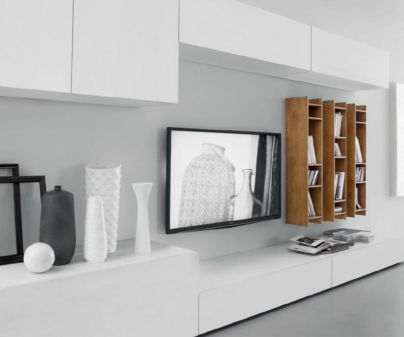 Fgf mobili luxus wohnwand c50b for Wohnwand konfigurieren