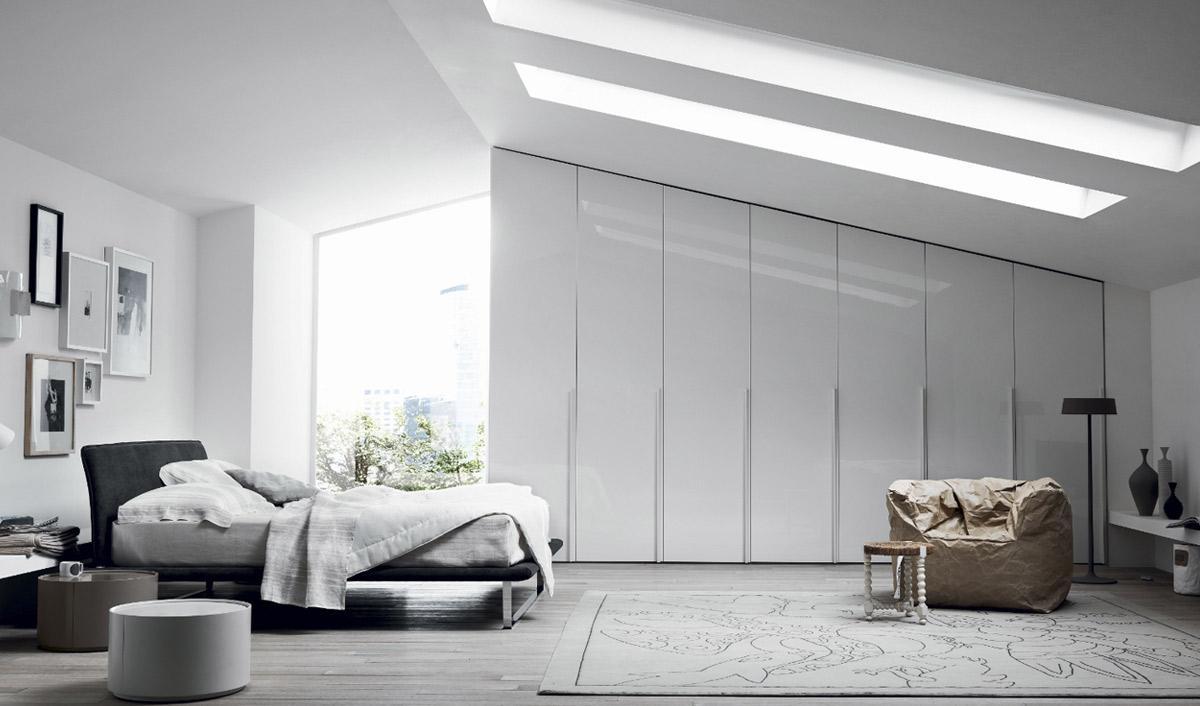 Schlafzimmer unter dachschräge: schr nke & schranksysteme f r ...