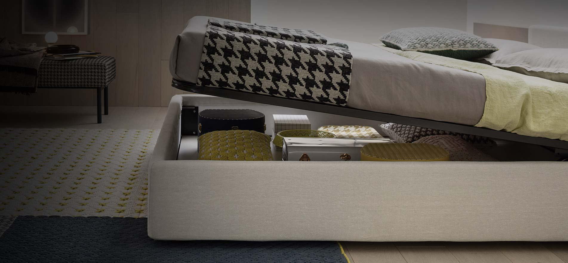 Design Betten mit Bettkasten