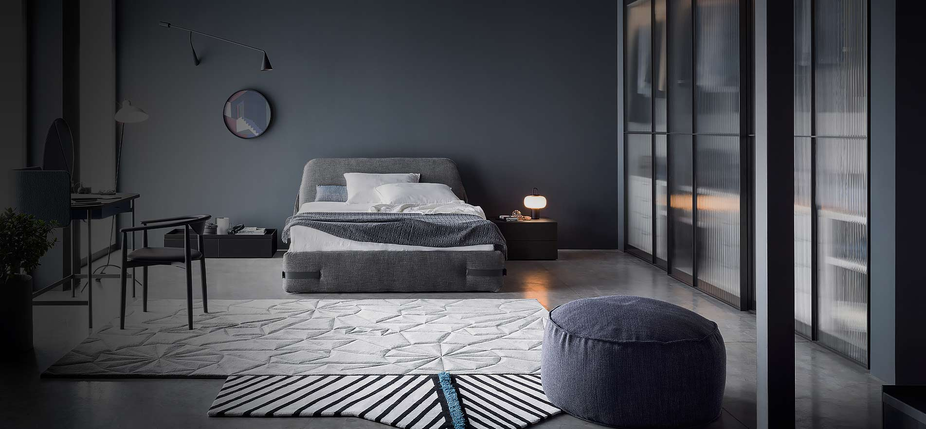 designer betten moderne hochwertig einzigartig. Black Bedroom Furniture Sets. Home Design Ideas