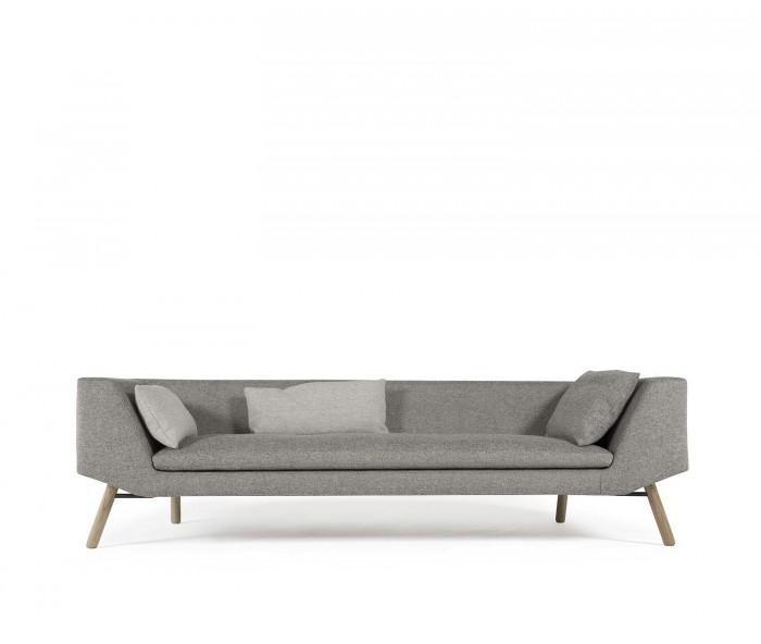 Prostoria Combine 3-Sitzer Design Sofa mit flacher Rueckenlehne