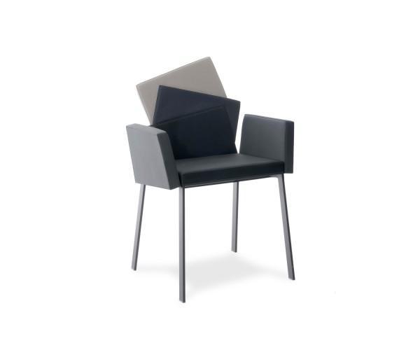 Compar Stuhl Karina mit Armlehnen