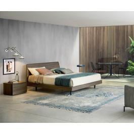 novamobili bett dedalo 160 x 200 cm ulme dunkel hell. Black Bedroom Furniture Sets. Home Design Ideas