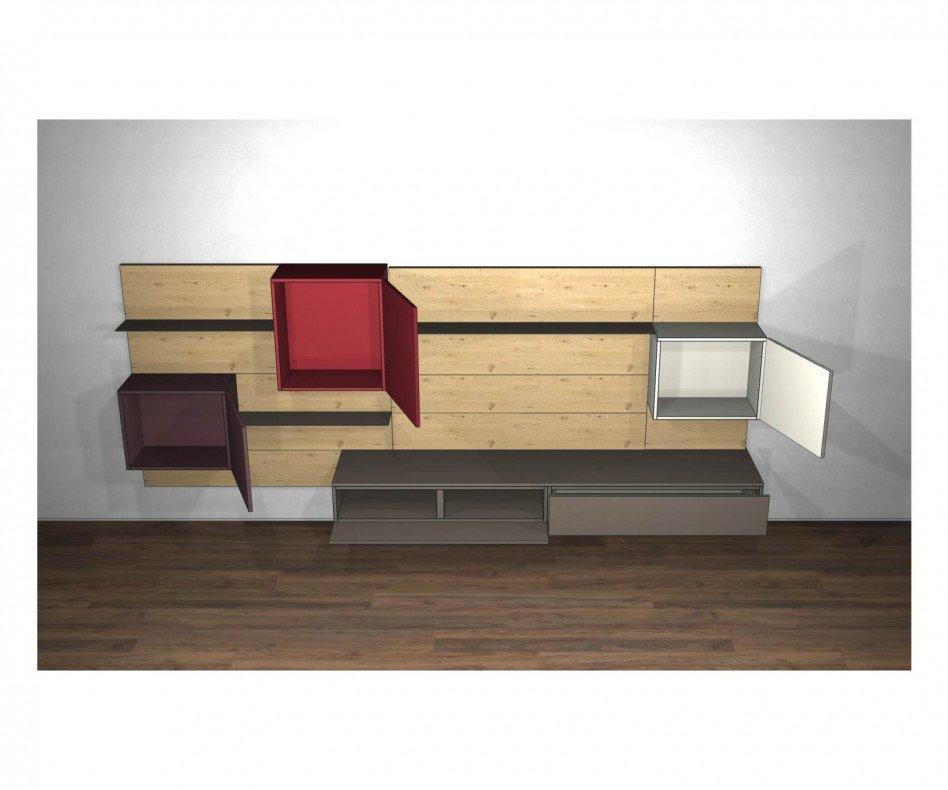 Livitalia Design Wohnwand C37