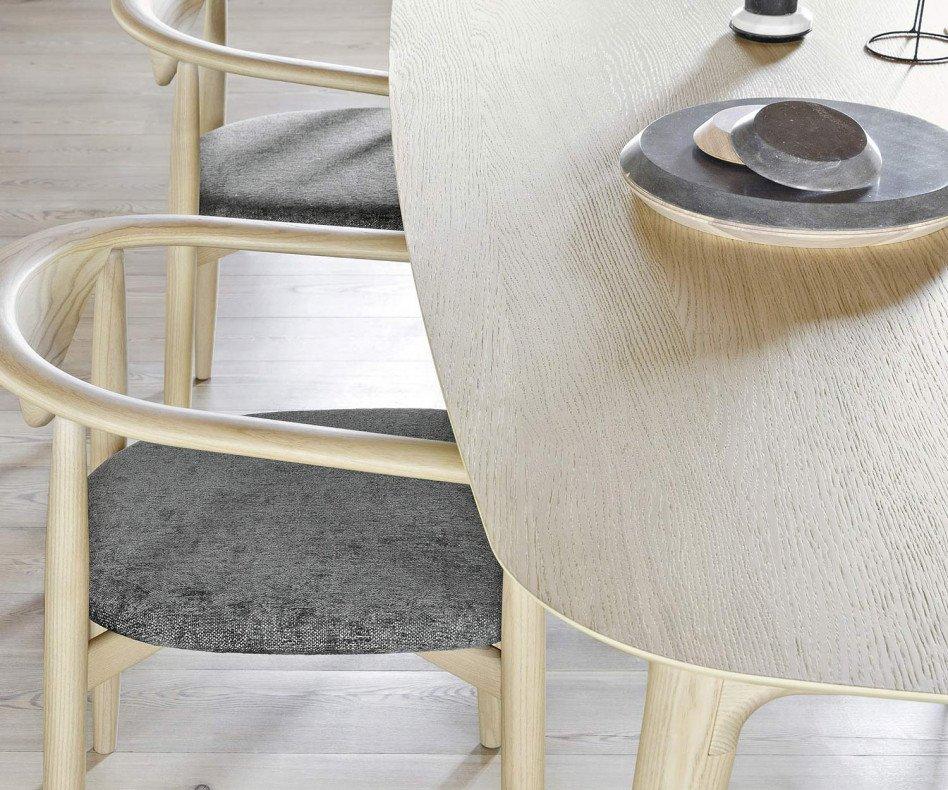 Novamobili Design Tisch Hanami Esszimmertisch Eiche