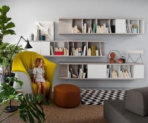 Wohnideen: Novamobili Reverse Bücherregal waagerecht