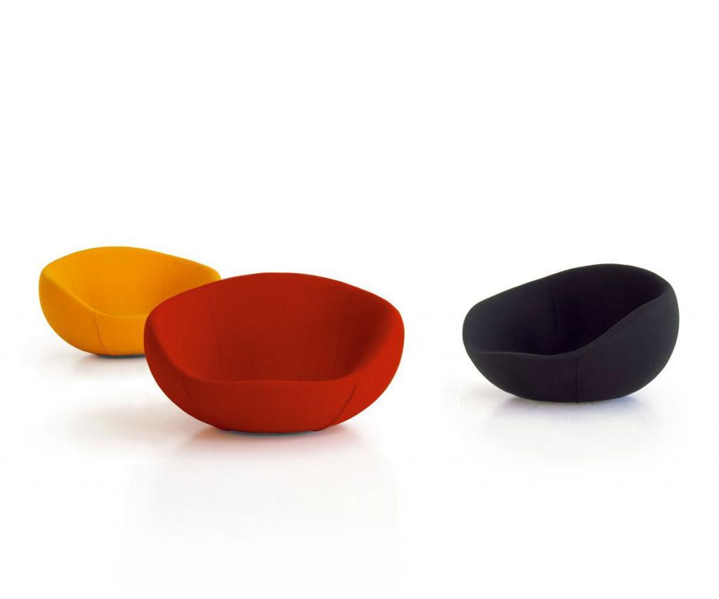 spHaus Eero Sessel rot orange schwarz