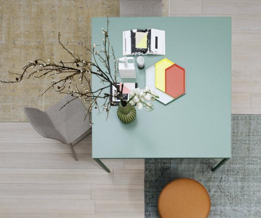 Novamobili Tisch Filo artico 339 quadratisch