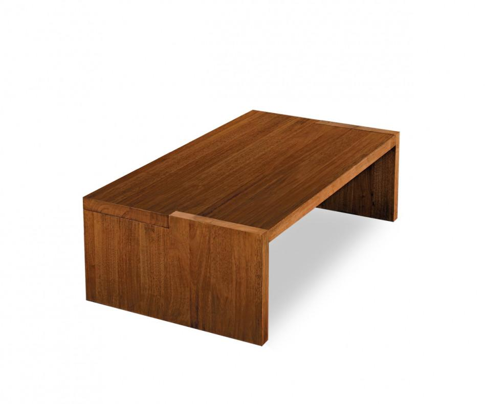 FGF Mobili Square Couchtisch massivholz parawood