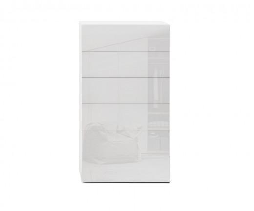 Novamobili Kommode Easy 6 Schubladen weiß glänzend B 54cm