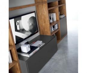 Wohnideen: FGF Mobili Luxus Wohnwand C92B