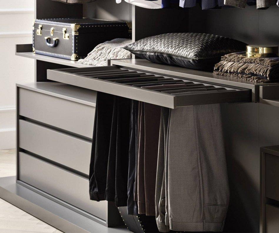 Novamobili Begehbarer Design Kleiderschrank Ben