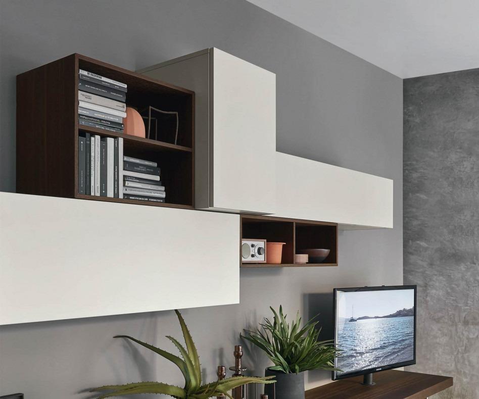 Livitalia Wohnwand C52 mit TV Board