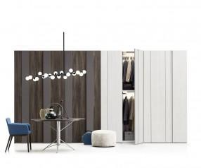 Design Kleiderschrank Novamobili Plisse