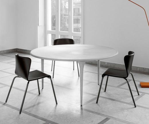 Exklusiver sphaus 009.01 150 organic Design Tisch rund organisch