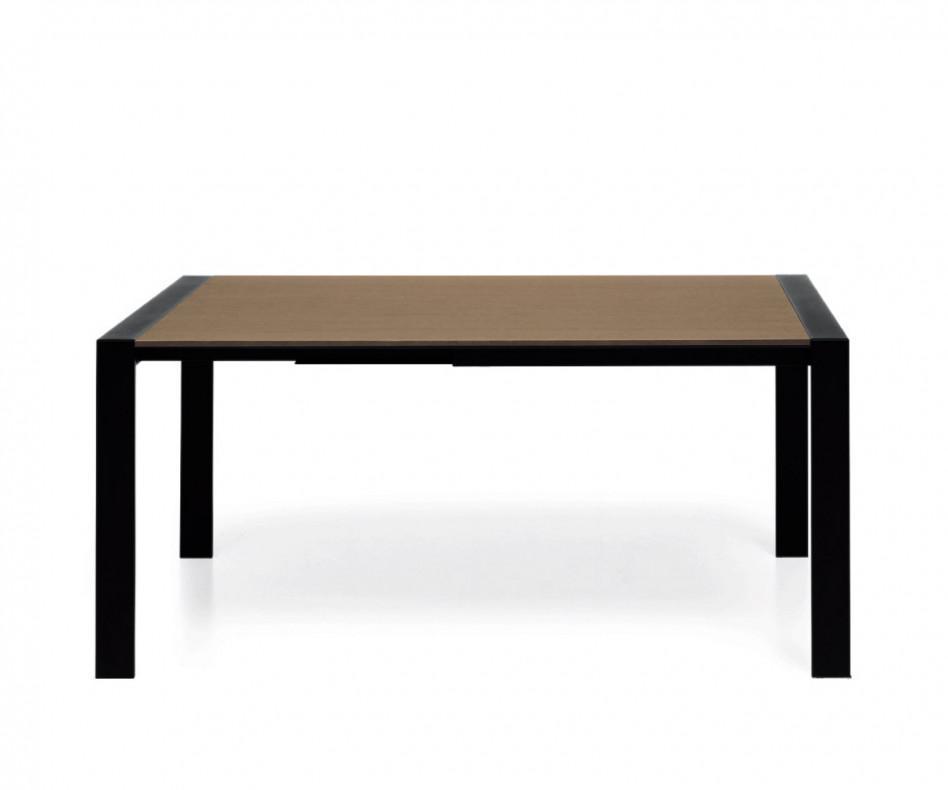 Novamobili Tisch Simple ausziehbar Esstisch Schreibtisch holzoptik Ulme dunkel