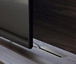 TV Schrank mit Kabeldurchlass