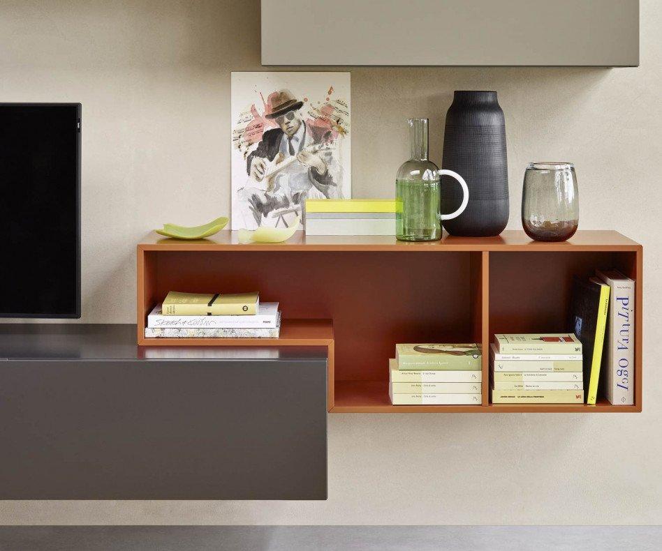 Schwebende Design Wohnwand C23