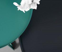 Hochwertiger MEME Design Round Couchtisch im Detail die Tischplatte