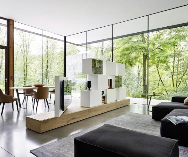Livitalia Raumteiler Wohnwand C46