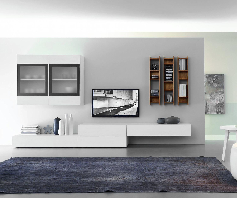 Fgf mobili massivholz modern wohnwand c22b