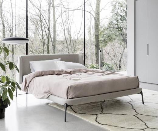 Italienisches Design Bett Novamobili Velvet