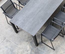 Oasiq Muze Design Garten Stuhl von oben Textilen Stoff Polsterung