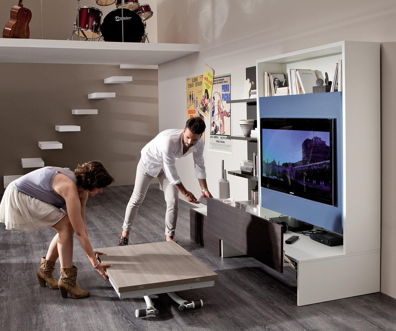 ozzio tv wand smartliving. Black Bedroom Furniture Sets. Home Design Ideas