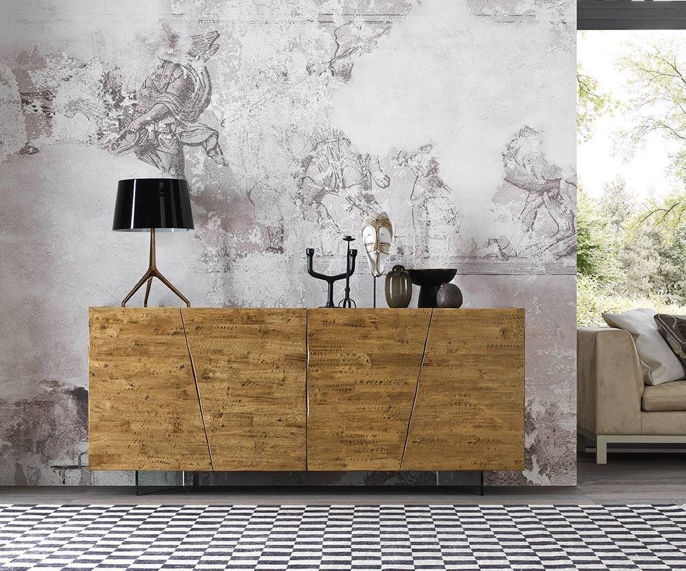 Massivholz-Sideboard aus Parawood