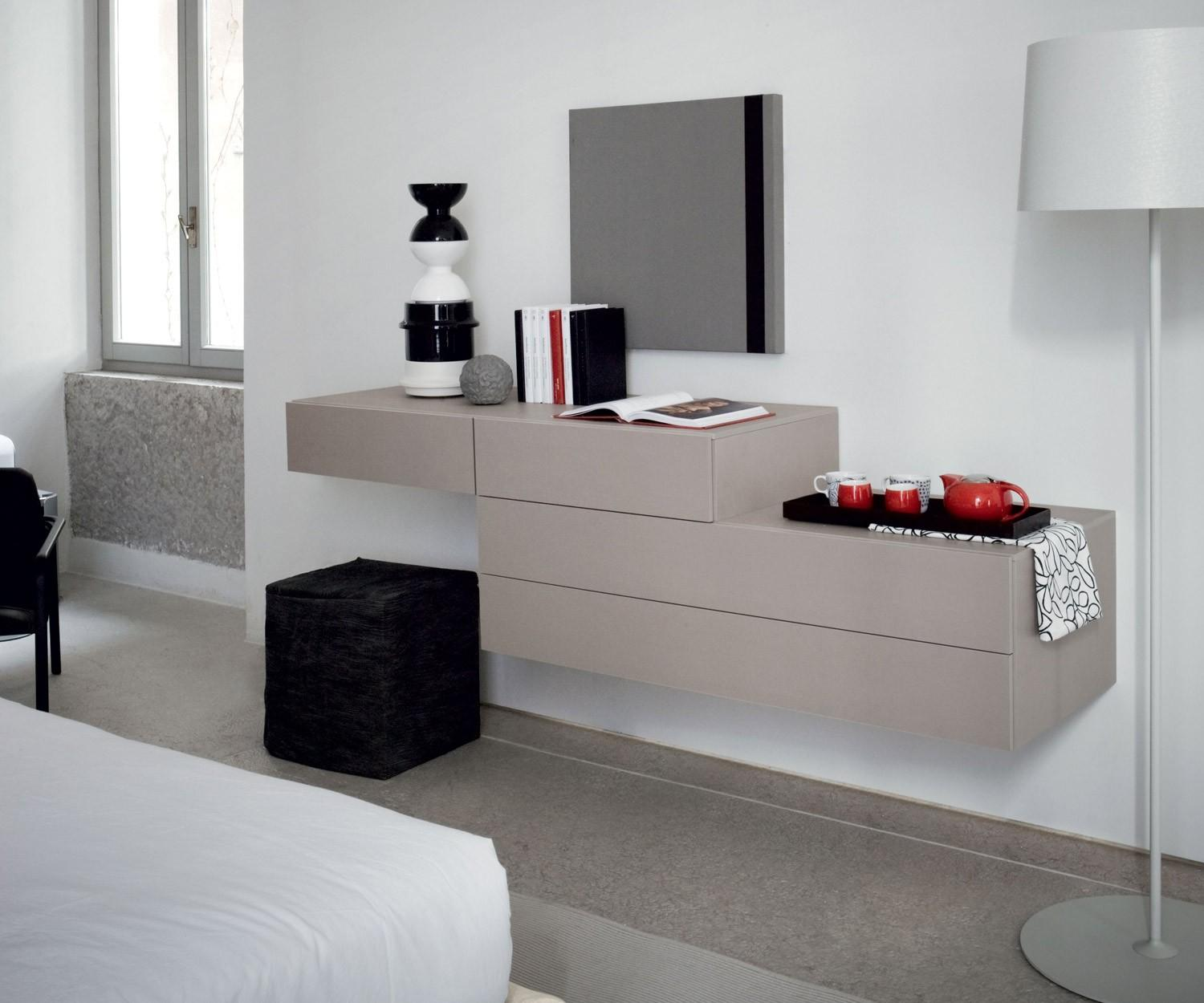 h ngekommode wei novamobili easy 2 schubladen. Black Bedroom Furniture Sets. Home Design Ideas