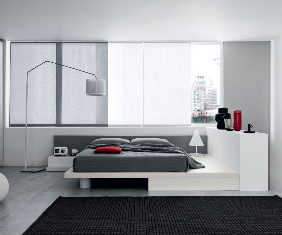 novamobili bett square mit led beleuchtung. Black Bedroom Furniture Sets. Home Design Ideas
