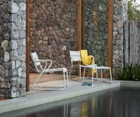 Wohnideen: Oasiq Corail Aluminium Hocker