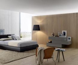 Livitalia Valeo Design Kommode 3 Schubladen versetzt