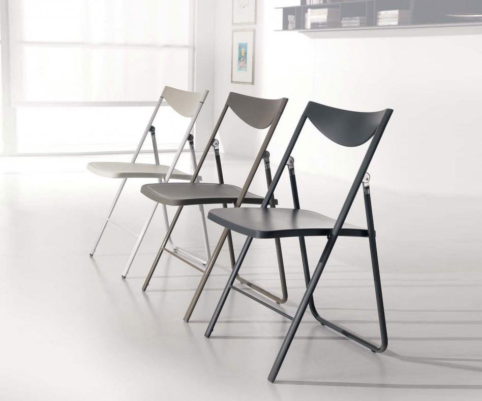 ozzio design klappstuhl nobys in verschiedenen farben. Black Bedroom Furniture Sets. Home Design Ideas