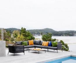 Oasiq Garten Kollektion Riad auf der Terrasse Sofa und Sessel