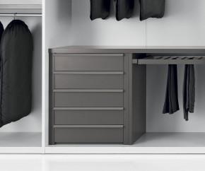 Wohnideen: Novamobili Kleiderschrank-Zubehör Armadi 5er-Schubladen