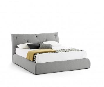 Novamobili Polsterbett Modo mit Bettkasten