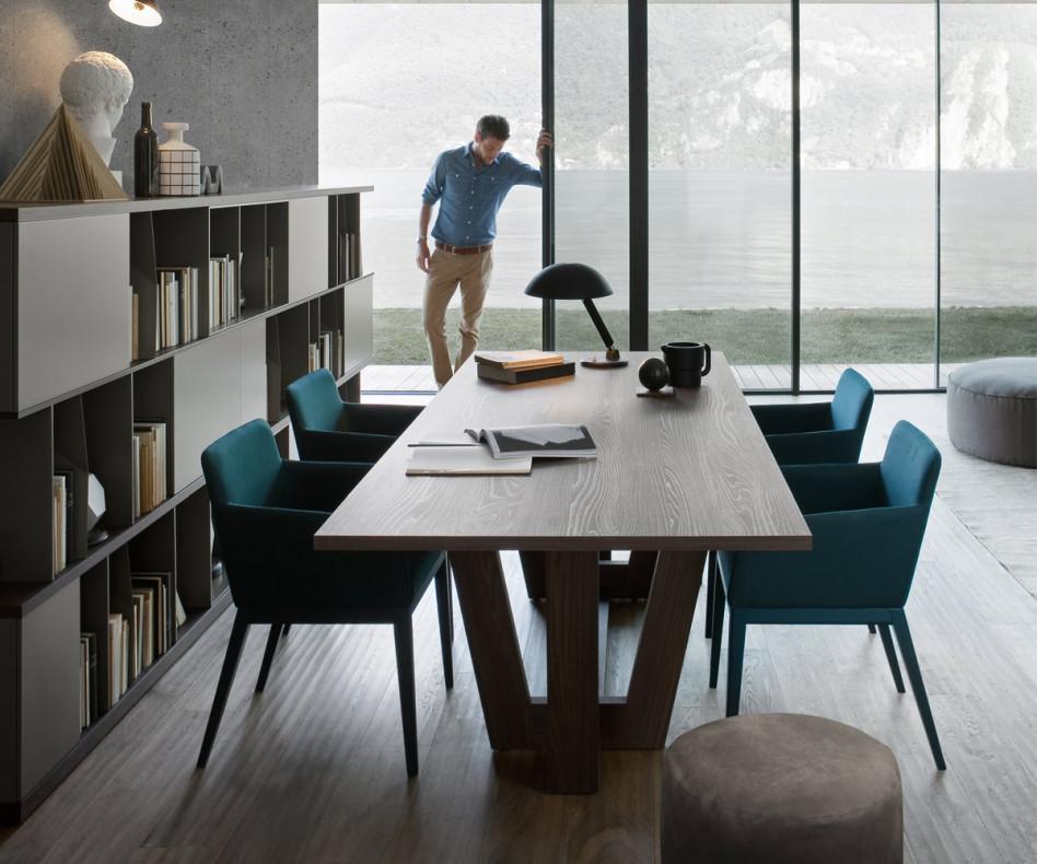 Novamobili Tisch Esstisch Schreibtisch Adam rechteckig 240x100