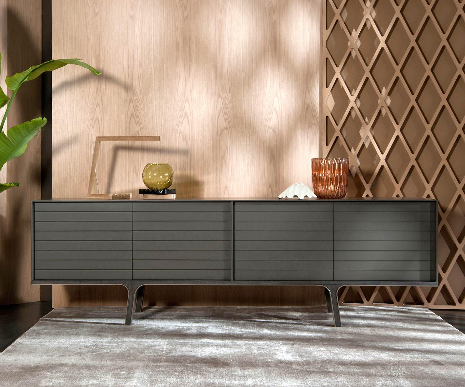 al2 mobius 002 sideboard mit 4 t ren. Black Bedroom Furniture Sets. Home Design Ideas