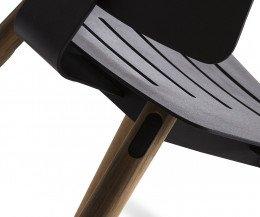 Oasiq Coco Design Stuhl Teak Beine aus Aluminium