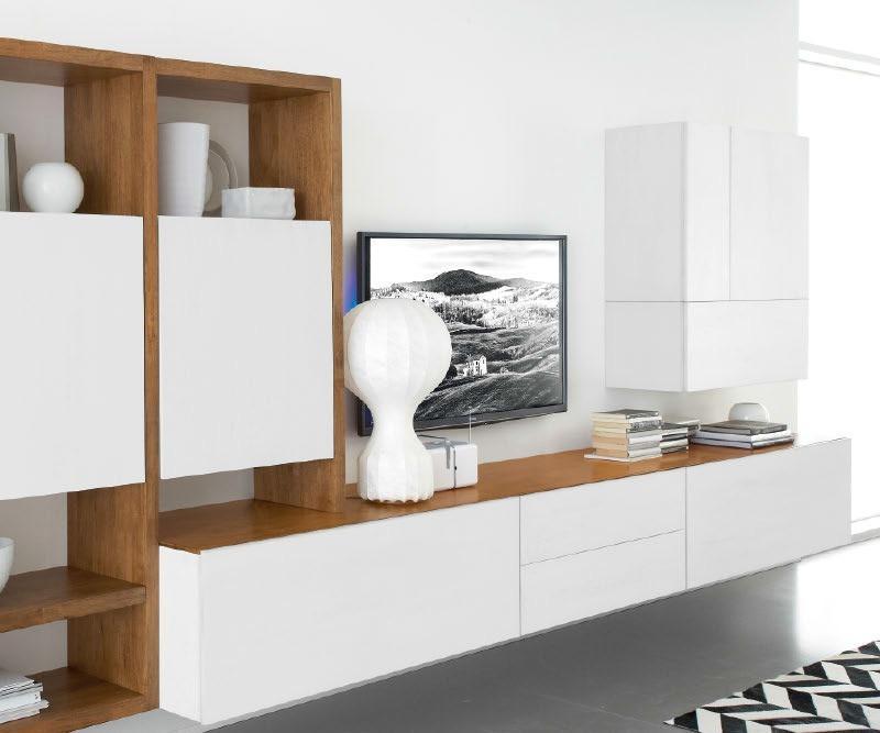 fgf mobili massivholz tv lowboard b300cm 2 schubladen. Black Bedroom Furniture Sets. Home Design Ideas