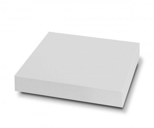 Exklusiver Novamobili Design Couchtisch Schatten Weiß