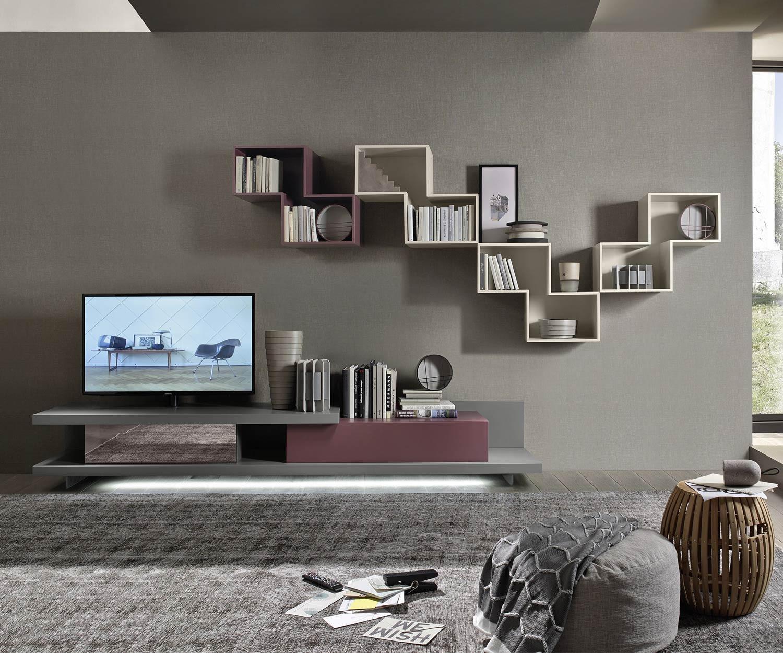 tv wohnwand wohnwand tv wand selbst gebaut teil laminattv. Black Bedroom Furniture Sets. Home Design Ideas