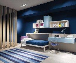 Hochwertiges Clei Kali 90x200 Designer Schrankbett für Kinderzimmer